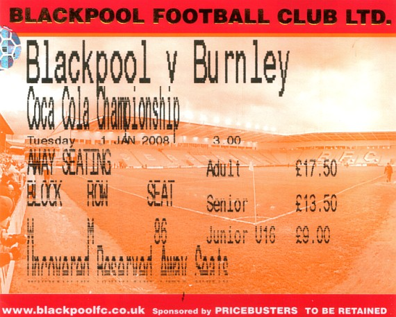 tickets0708 blackpool