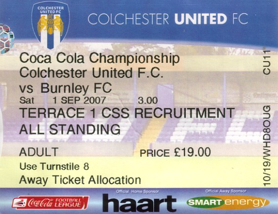 tickets0708 colchester