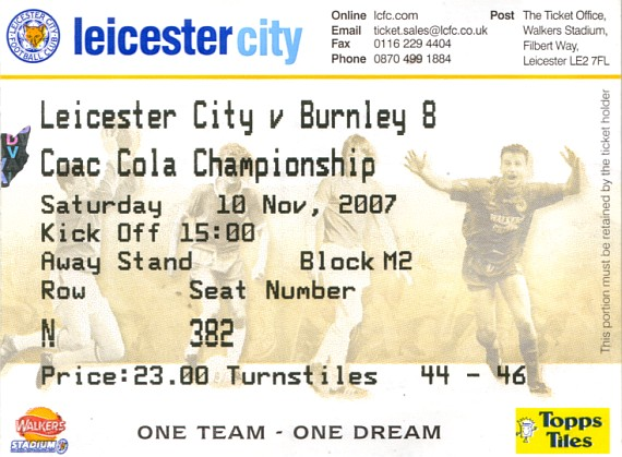 tickets0708 leicester