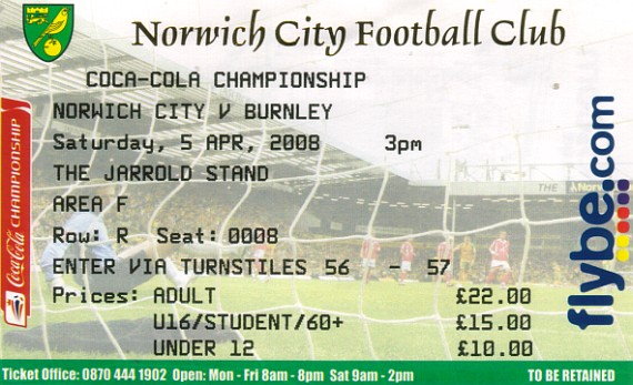 tickets0708 norwich
