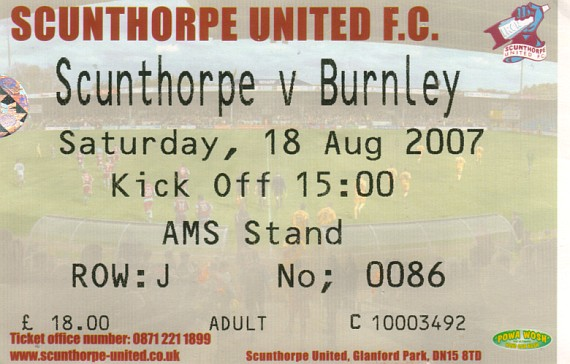 tickets0708 scunthorpe