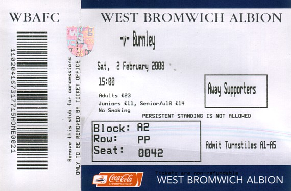 tickets0708 west brom