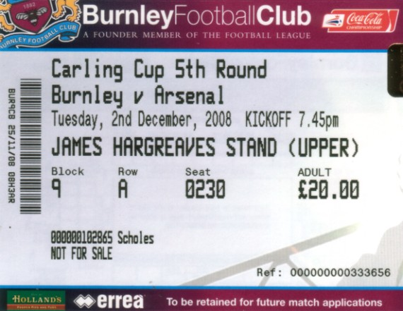 tickets0809 arsenal