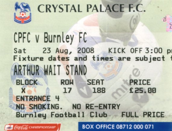 tickets0809 crystal palace