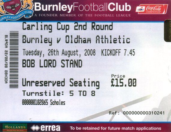 tickets0809 oldham