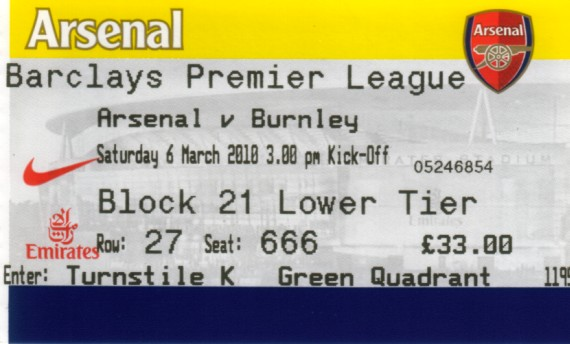 tickets0910 arsenal