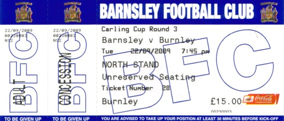 tickets0910 barnsley