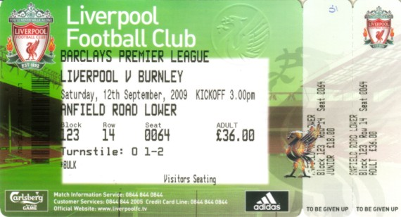 tickets0910 liverpool