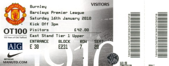 tickets0910 man utd