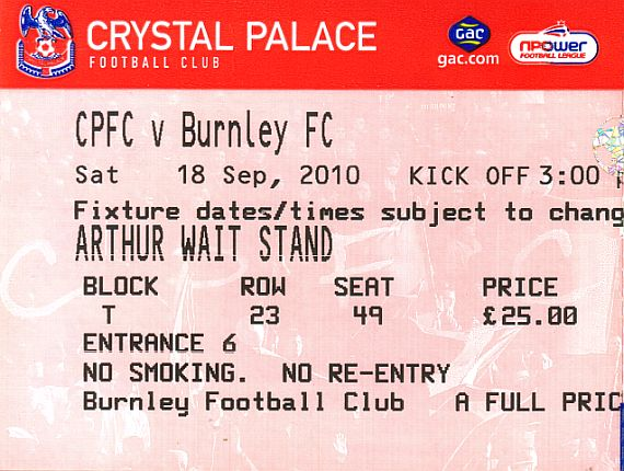 tickets1011 crystal palace