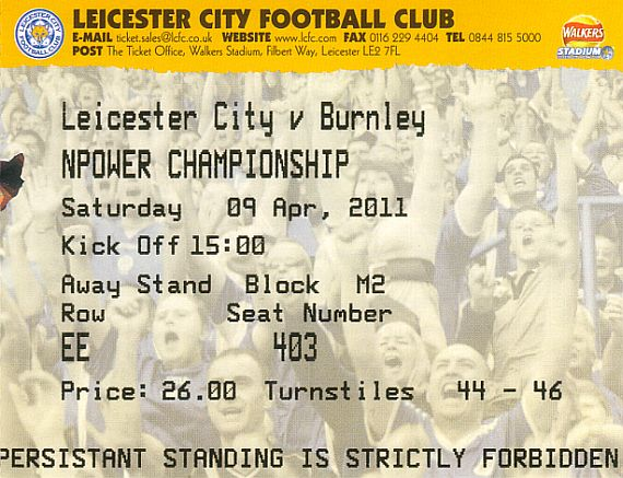 tickets1011 leicester