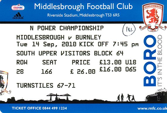 tickets1011 middlesbrough
