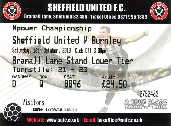 tickets1011 sheff utd