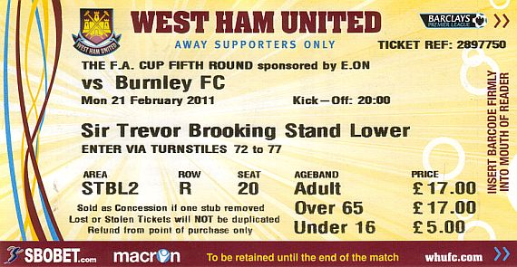 tickets1011 west ham