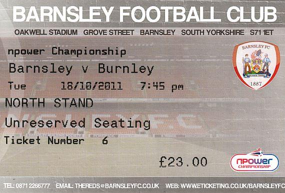 tickets1112 barnsley