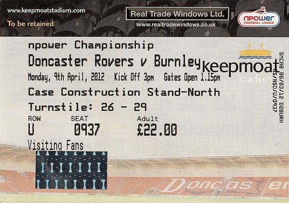 tickets1112 doncaster