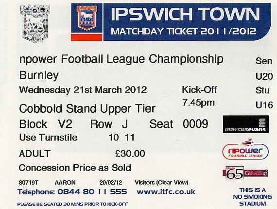 tickets1112 ipswich