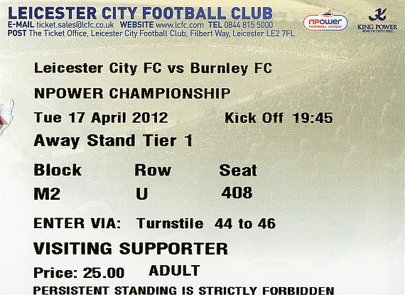tickets1112 leicester