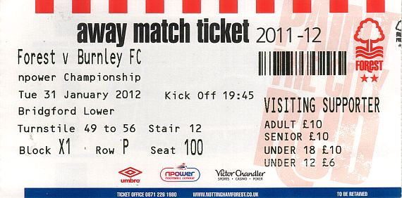 tickets1112 nottm forest