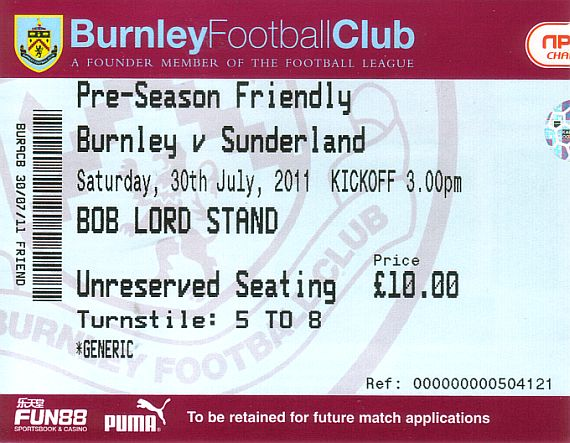 tickets1112 sunderland