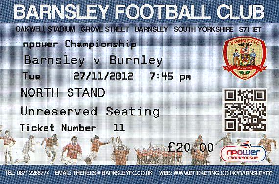 tickets1213 barnsley
