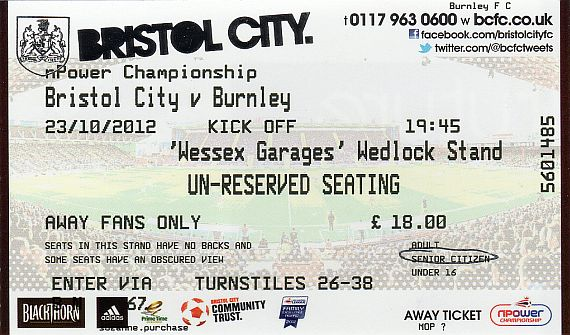 tickets1213 bristol city