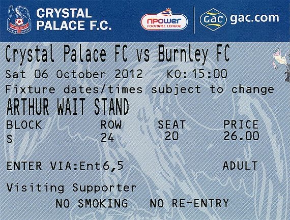 tickets1213 crystal palace