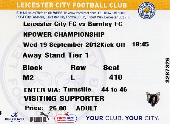tickets1213 leicester