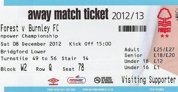 tickets1213 nottm forest