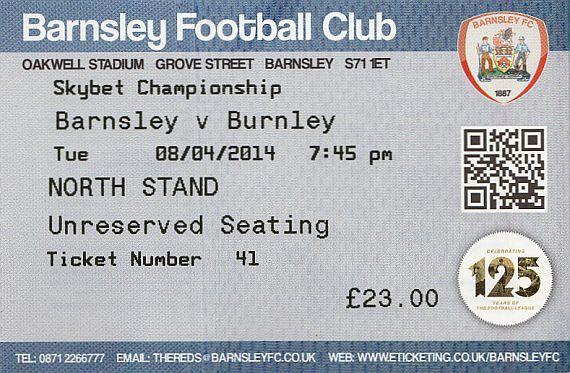 tickets1314 barnsley