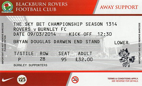 tickets1314 blackburn