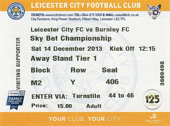tickets1314 leicester