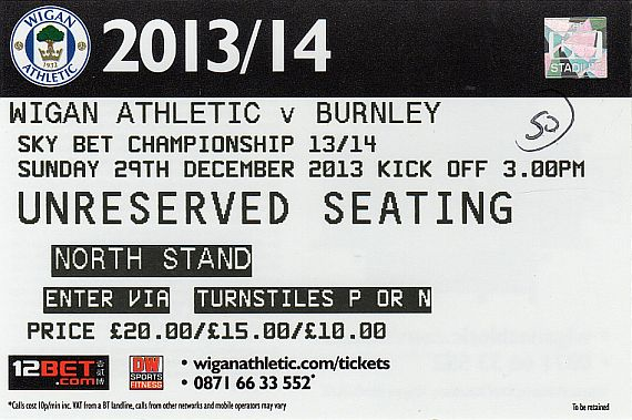 tickets1314 wigan
