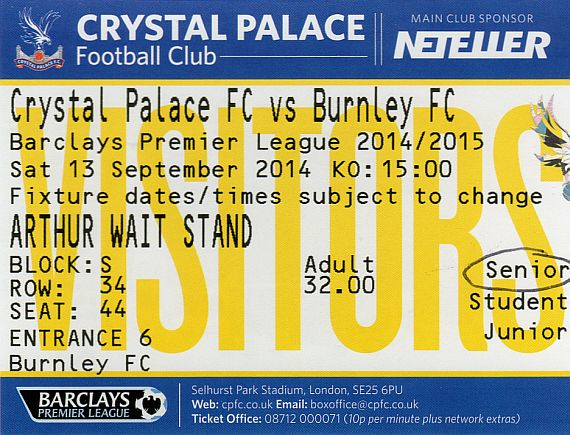 tickets1415 crystal palace