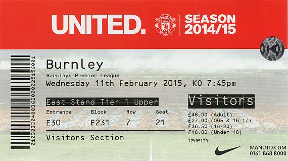tickets1415 man utd