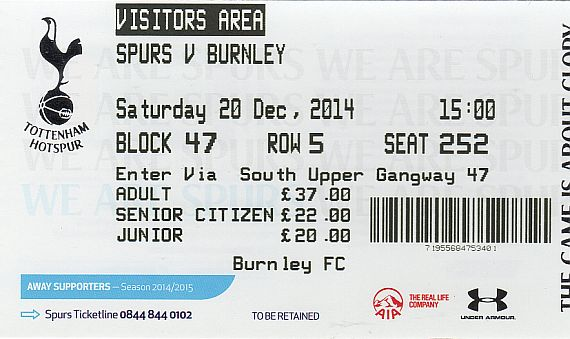 tickets1415 tottenham