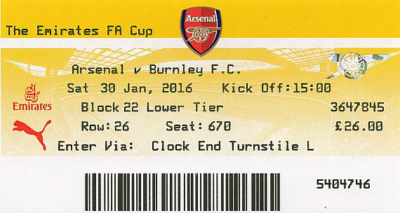 tickets1516 arsenal