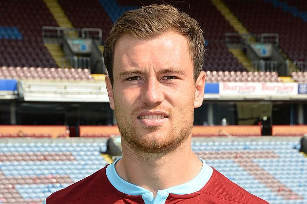 Ashley Barnes was back in action today