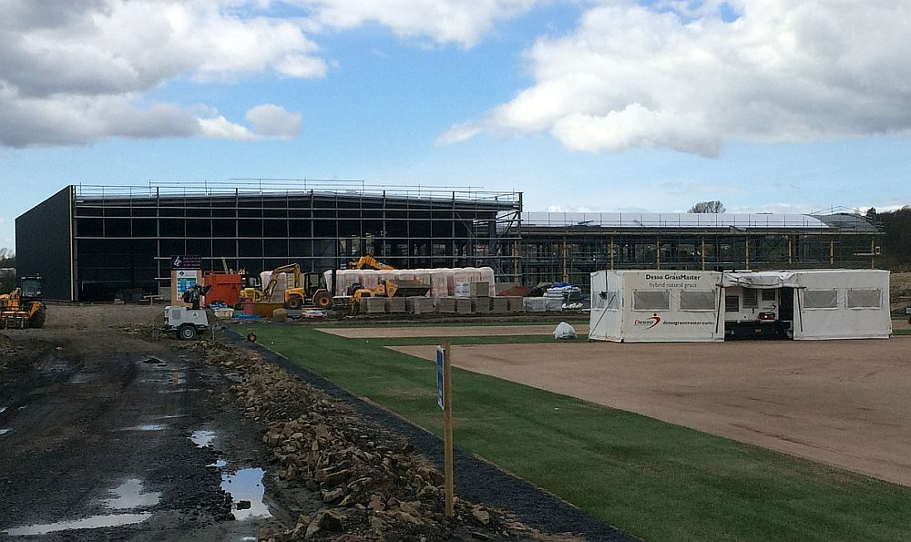 Work continues at Gawthorpe