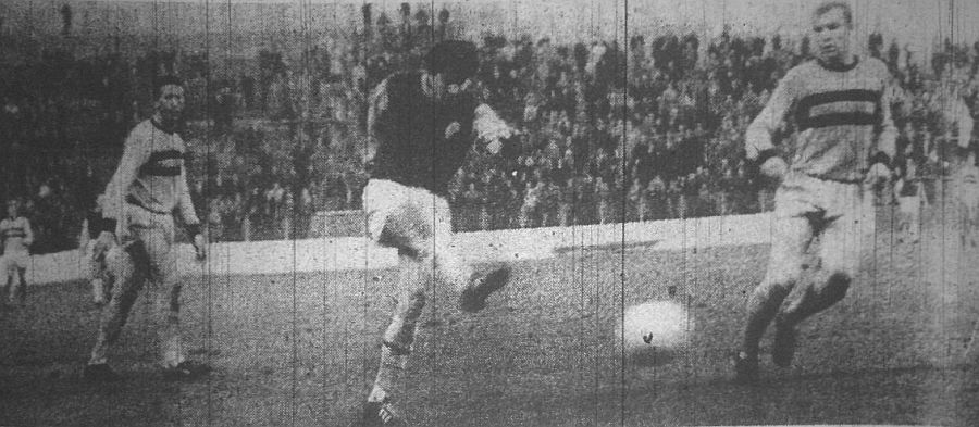 A goal against West Ham during a run in which he scored in seven successive games
