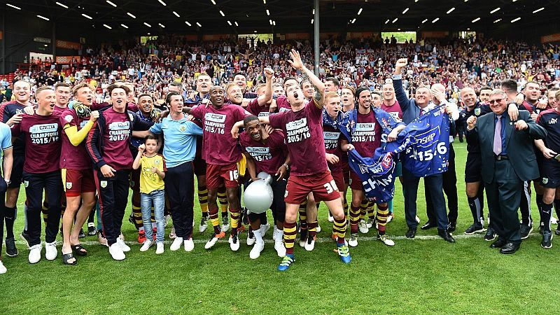 Burnley are Football League Champions