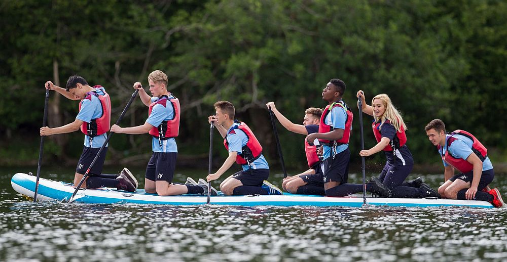 1617 burnley youth team raft