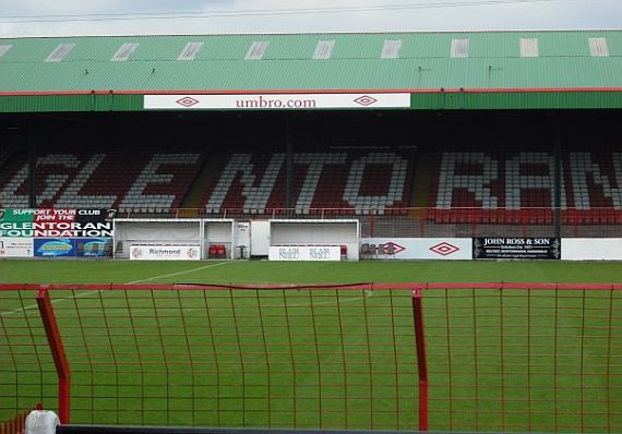 grounds glentoran 4
