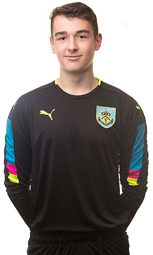 Goalkeeper Adam Bruce
