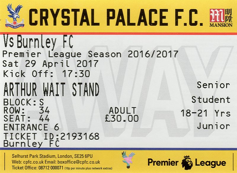 tickets1617 crystal palace