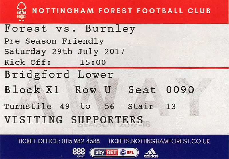 tickets1718 nottm forest