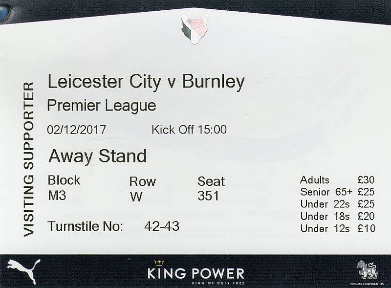 tickets 1718 leicester