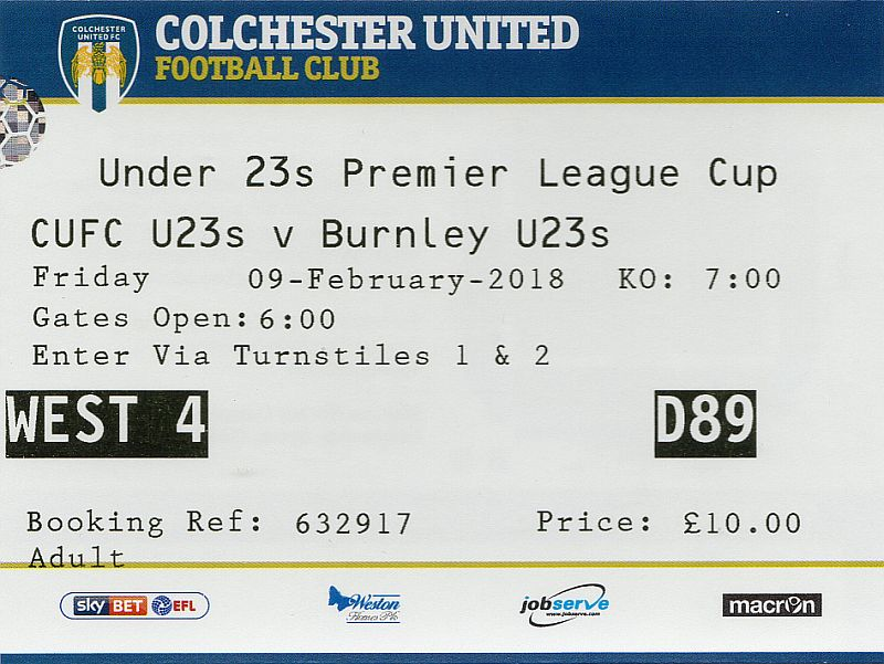 tickets1718 colchester