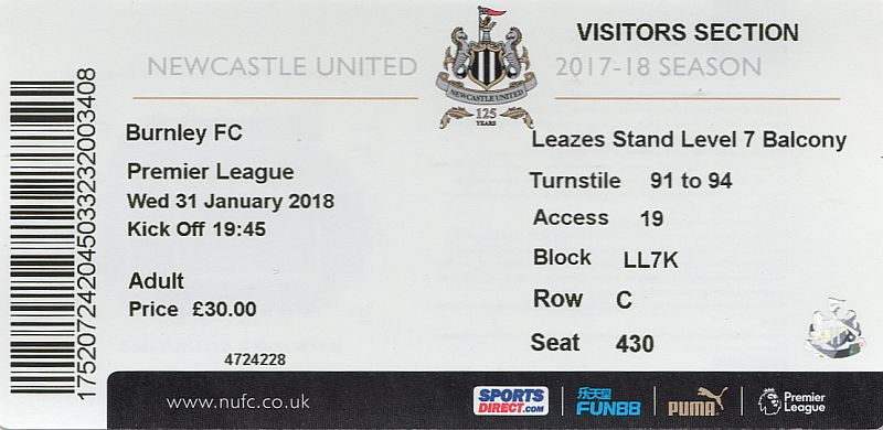 tickets1718 newcastle