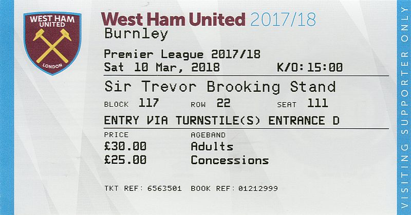 tickets1718 west ham